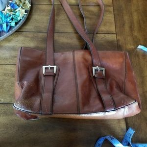 😎 Etienne Aigner brown leather purse